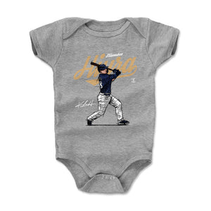 Keston Hiura Kids Baby Onesie | 500 LEVEL