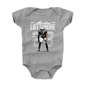 Marshon Lattimore Kids Baby Onesie | 500 LEVEL