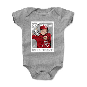 Mike Trout Kids Baby Onesie | 500 LEVEL