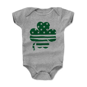 St. Patrick's Day 3 Leaf Clover Kids Baby Onesie | 500 LEVEL
