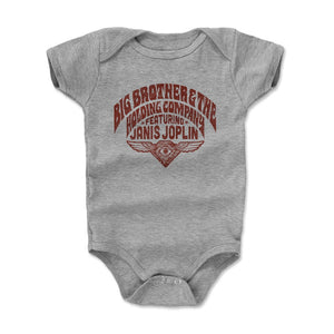Big Brother And The Holding Company Kids Baby Onesie | 500 LEVEL