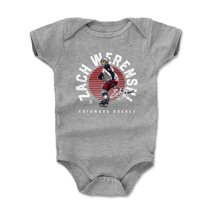 Zach Werenski Kids Baby Onesie | 500 LEVEL