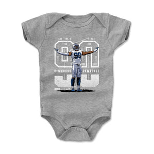 DeMarcus Lawrence Kids Baby Onesie | 500 LEVEL
