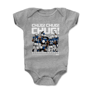 Quenton Nelson Kids Baby Onesie | 500 LEVEL