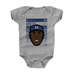 Aroldis Chapman Kids Baby Onesie | 500 LEVEL