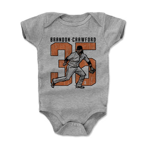 Brandon Crawford Kids Baby Onesie | 500 LEVEL