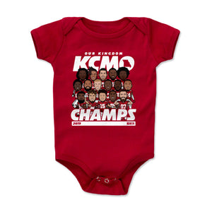 Kansas City Kids Baby Onesie | 500 LEVEL