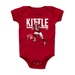 George Kittle Kids Baby Onesie | 500 LEVEL