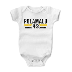 Troy Polamalu Kids Baby Onesie | 500 LEVEL
