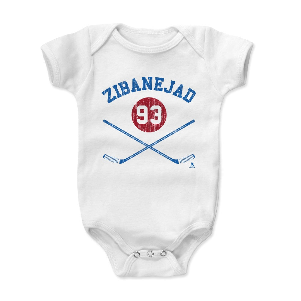 Mika Zibanejad Kids Baby Onesie | 500 LEVEL