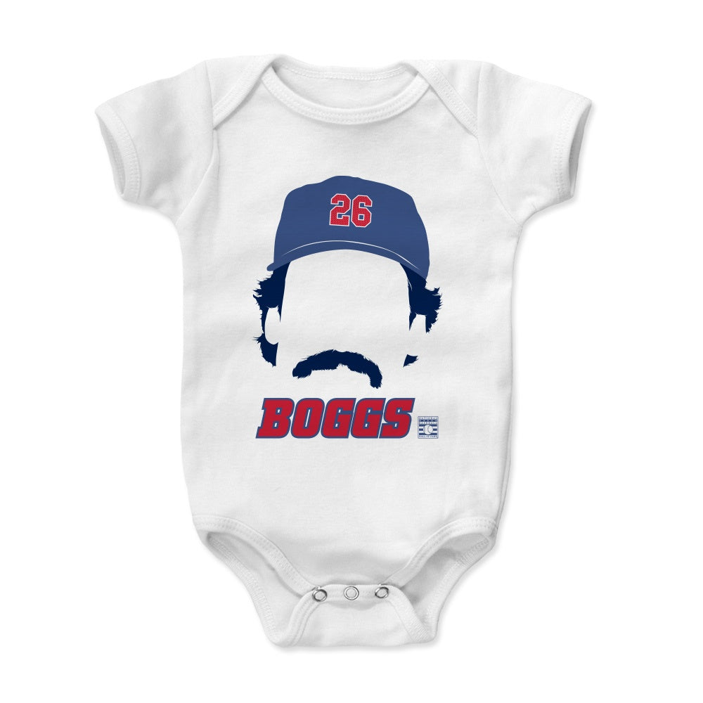 Wade Boggs Font 3-24 Months 500 LEVEL Wade Boggs Boston Baseball Baby Clothes /& Onesie