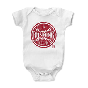 Jim Bunning Kids Baby Onesie | 500 LEVEL
