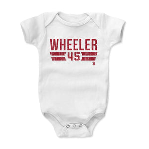 Zack Wheeler Kids Baby Onesie | 500 LEVEL