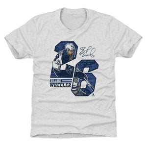Blake Wheeler Kids T-Shirt | 500 LEVEL