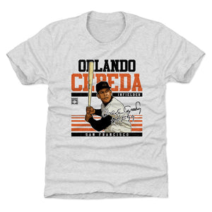 Orlando Cepeda Kids T-Shirt | 500 LEVEL