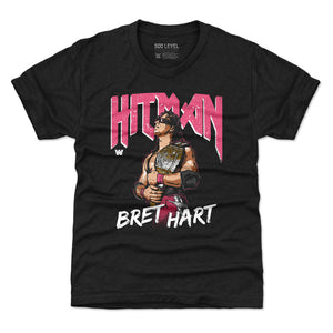 Bret Hart Kids T-Shirt | 500 LEVEL