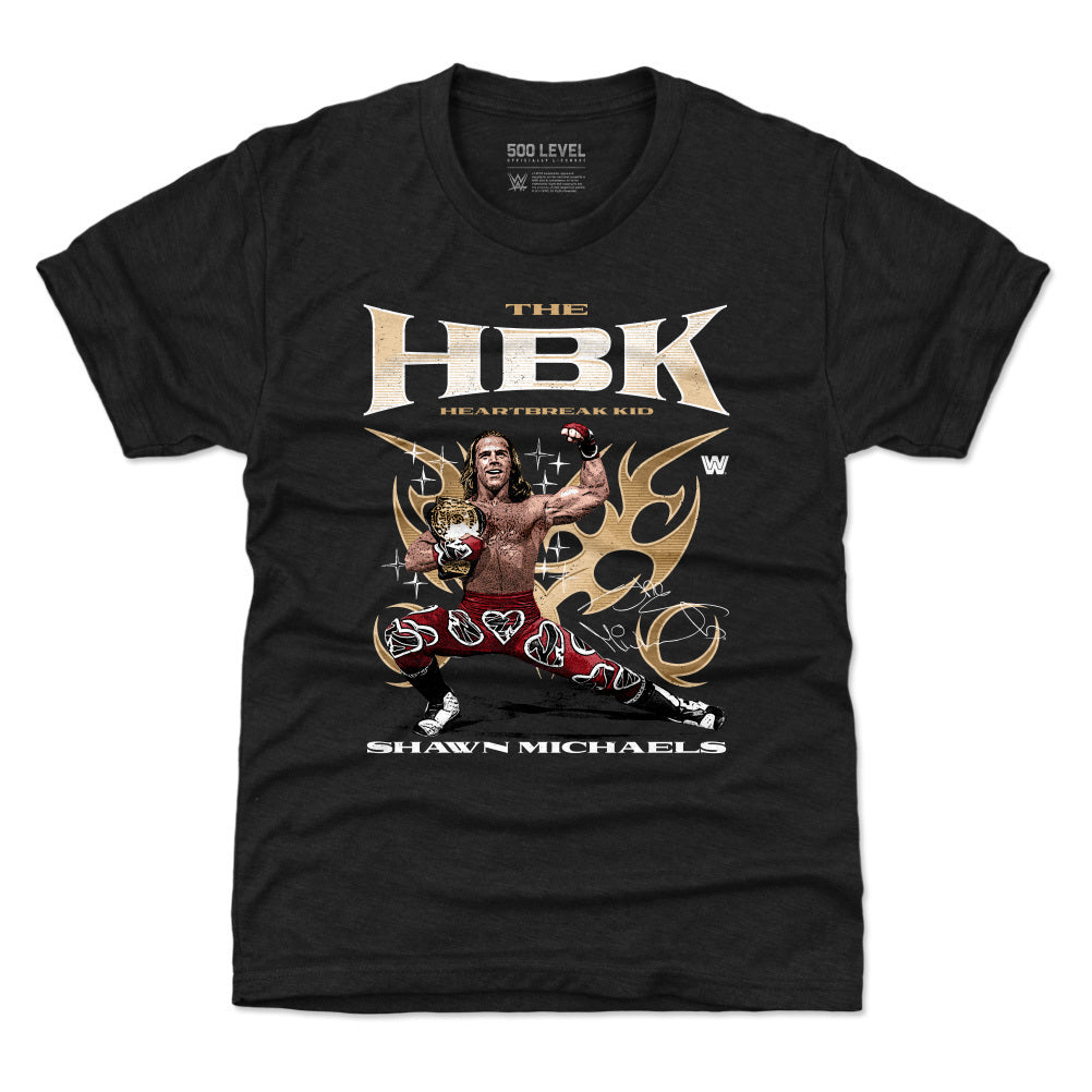 Shawn Michaels Kids T-Shirt | 500 LEVEL