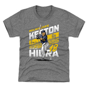 Keston Hiura Kids T-Shirt | 500 LEVEL
