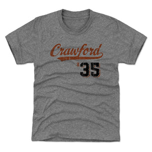 Brandon Crawford Kids T-Shirt | 500 LEVEL
