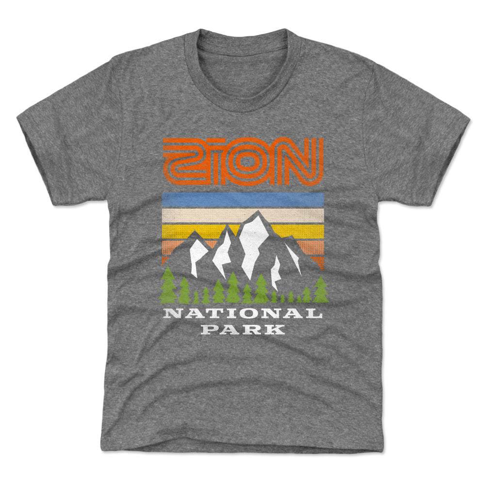 Zion National Park Kids T-Shirt | 500 LEVEL