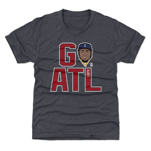 Ozzie Albies Kids T-Shirt | 500 LEVEL