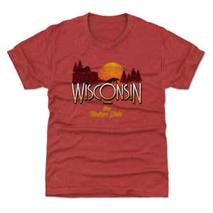 Wisconsin Kids T-Shirt | 500 LEVEL