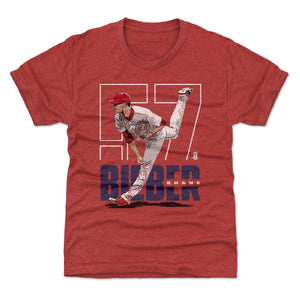 Shane Bieber Kids T-Shirt | 500 LEVEL