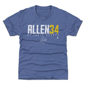 Jake Allen Kids T-Shirt | 500 LEVEL