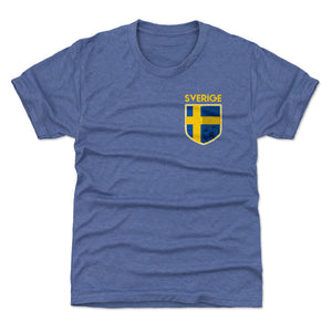 Sweden Kids T-Shirt | 500 LEVEL