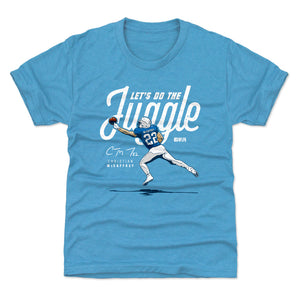 Christian McCaffrey Kids T-Shirt | 500 LEVEL