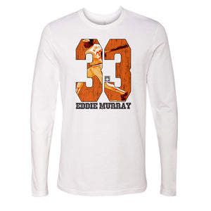 Eddie Murray Men's Long Sleeve T-Shirt | 500 LEVEL
