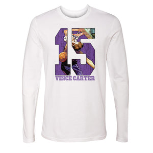Vince Carter Men's Long Sleeve T-Shirt | 500 LEVEL