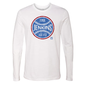 Fergie Jenkins Men's Long Sleeve T-Shirt | 500 LEVEL
