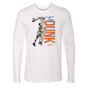John Starks Men's Long Sleeve T-Shirt | 500 LEVEL