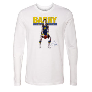Rick Barry Men's Long Sleeve T-Shirt | 500 LEVEL