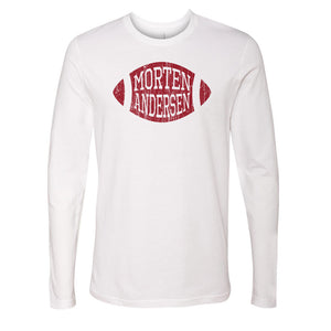 Morten Andersen Men's Long Sleeve T-Shirt | 500 LEVEL
