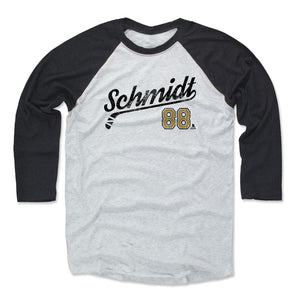 Nate Schmidt Men's Baseball T-Shirt | 500 LEVEL