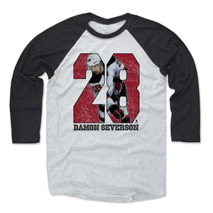 Damon Severson Men's Baseball T-Shirt | 500 LEVEL