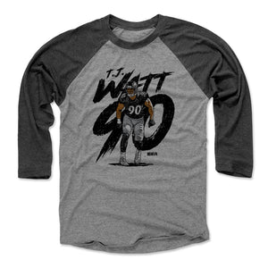 T.J. Watt Men's Baseball T-Shirt | 500 LEVEL