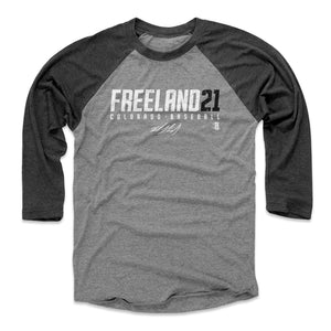 Kyle Freeland Men's Baseball T-Shirt | 500 LEVEL
