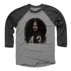 Troy Polamalu Men's Baseball T-Shirt | 500 LEVEL