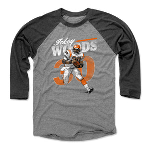 Ickey Woods Men's Baseball T-Shirt | 500 LEVEL