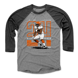 Nick Chubb Men's Baseball T-Shirt | 500 LEVEL
