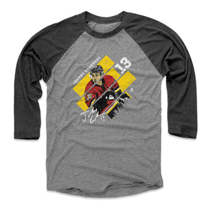 Johnny Gaudreau Men's Baseball T-Shirt | 500 LEVEL