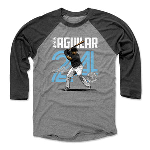 Jesus Aguilar Men's Baseball T-Shirt | 500 LEVEL