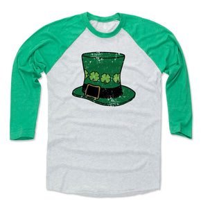 St. Patrick's Day Leprechaun Men's Baseball T-Shirt | 500 LEVEL