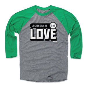 Jordan Love Men's Baseball T-Shirt | 500 LEVEL
