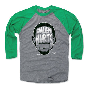 Jalen Hurts Men's Baseball T-Shirt | 500 LEVEL