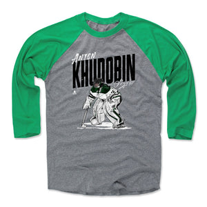 Anton Khudobin Men's Baseball T-Shirt | 500 LEVEL