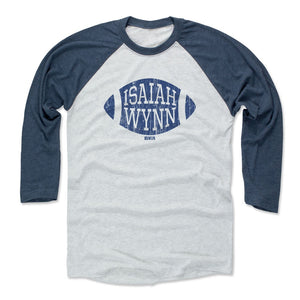 Isaiah Wynn Men's Baseball T-Shirt | 500 LEVEL
